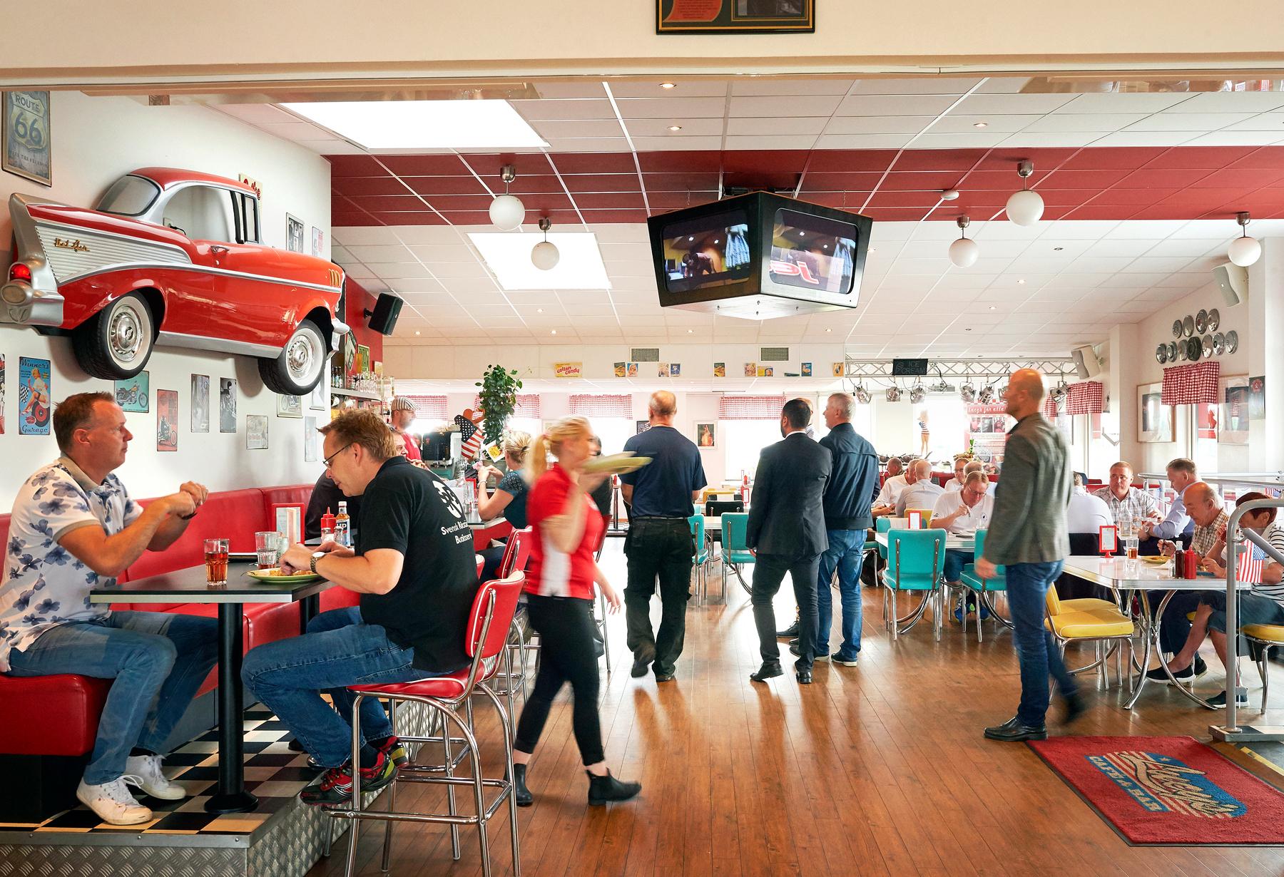 Lucy´s Restaurang på Handelsplats Center Cyd